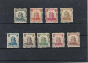 Wurttemburg 1916 MNH Official Stamps CAT£25 Ref: R7162