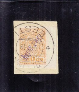 Estonia: Sc #21, Used on a Piece (39079)