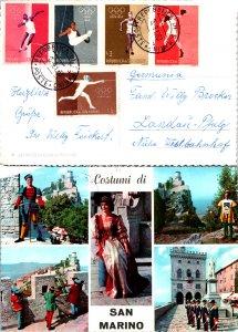 San Marino, Picture Postcards, Sports