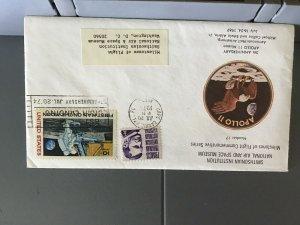 U.S.A 1974 Apollo 11 Smithsonian Institute stamp cover  R29409