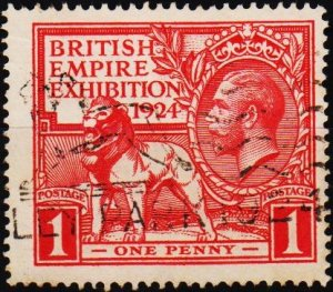 Great Britain 1924 1d S.G.430 Fine Used