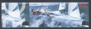 Estonia Sc 487 2004 Europa Sailboat stamp mint NH