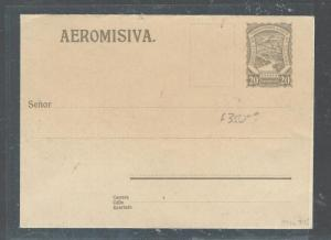 COLOMBIA (P2307BB) SCADTA 20C PSE UNUSED.  SCARCE