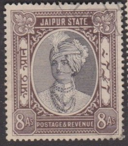 India: Jaipur #43 used 8-annas