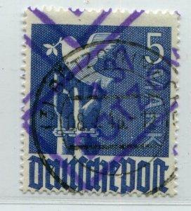 GERMANY SOVIET ZONE HOP BEZIRKSHANDSTEMPEL BEZIRK 37 II d VIII PERFECT VFU 129