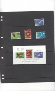 Haiti 640, C360-2a  MNH UN 25th Anniversary