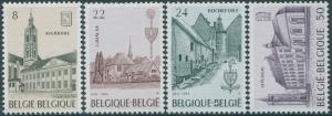 Belgium 1984 SG2801-2804 Abbeys set MNH