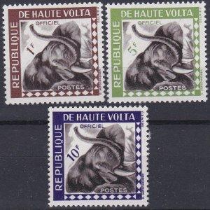 Upper Volta Sc #O1-O3 Mint Hinged