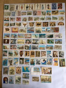 Greece 100+ stamps - Lot K