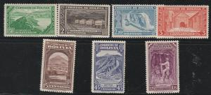BOLIVIA #290-6 MINT NEVER HINGED COMPLETE