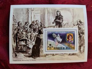 Maldives 488 XFNH, CV $19
