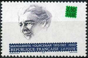 France #B654 Marguerite Yourcenar MNH