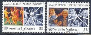 UN Vienna Scott #'s 70 - 71 MH