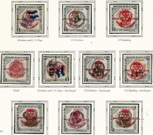 Rotary International Honduras C231-C240 MNH...High Quality Collectable!