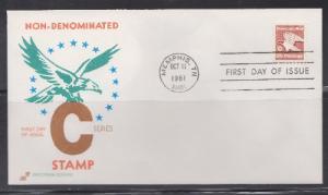 1948 Nondenominated C Unaddressed Spectrum FDC