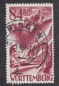 Germany - Wurttemberg # 8N26, Used, 1/3 Cat