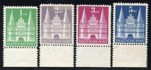 GERMANY HOLSTEN GATE TYPE II SCOTT#685a/661a MARGIN COPIES  MINT NEVER HINGED