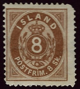 Iceland SC#3 Mint Fine SCV$325.00...Would fill a great Spot!