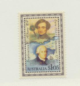 Australia Scott #1226, Explorers of Western Australia Issue From 1991, Collec...