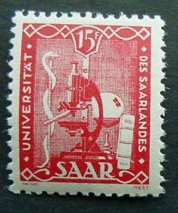 Germany, Saar, Scott 203, MNH