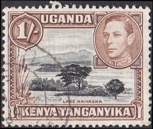 Kenya Uganda Tanganyika Scott 80a Used