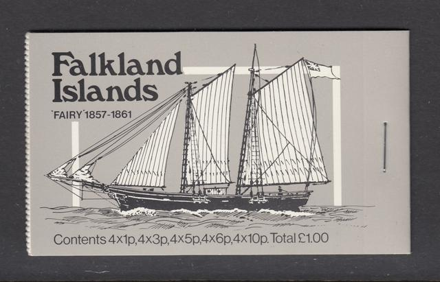 Falkland 1978 'Fairy Mail Ships Booklet
