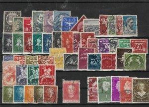 netherlands stamps  ref 12146