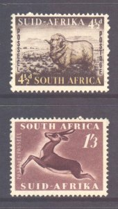 South Africa Scott 195/96 - SG146/147, 1953 Short Set MH*