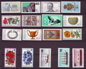 J12912 JLstamps 1975-6 germany mnh #various $11.00+ scv,