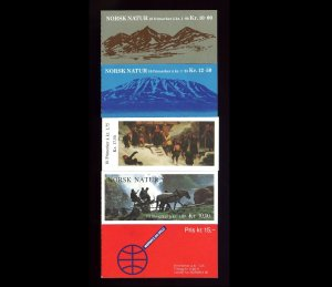 Lot of 98 Norway MNH Mint Stamps in Booklets Scott Range 729a - 822a #145841 R