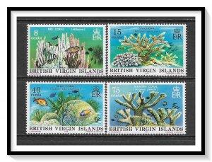 British Virgin Islands #333-336 Corals Set MNH