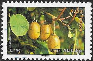France 4190 Used - ‭Fruit - Kiwis