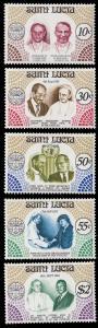 St. Lucia 460 - 464 MNH