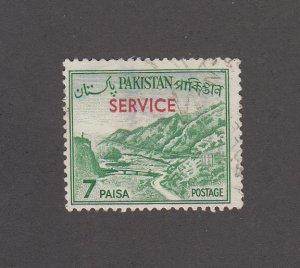 Pakistan Scott #O80a Used