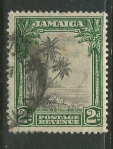 Jamaica -Scott 106 - Coco Palms- 1932 - Used - Single 2p Stamp