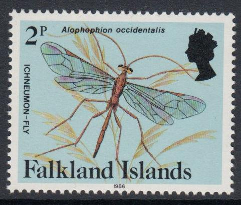 Falkland Islands - 1986 Insects and Spiders (2p) (MNH)