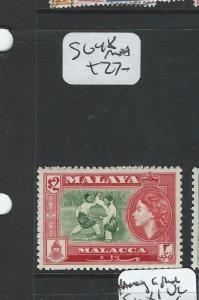 MALAYA MALACCA (PP2607B) QEII $2.00   SG 48  MNH
