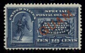 GUAM #E1 10¢ Special Delivery, og, LH, extremely fresh VF