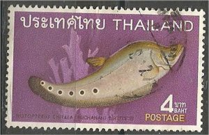 THAILAND, 1968, used 4b, Fish Scott 508
