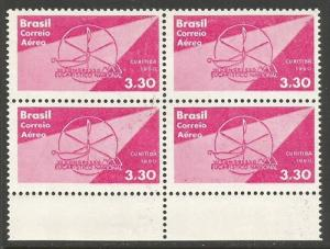 BRAZIL C99 MNH BLOCK OF 4 [D1]