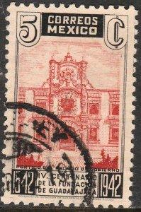 MEXICO 772, 5¢ 400th Anniv of Guadalajara. Used. VF. (719)