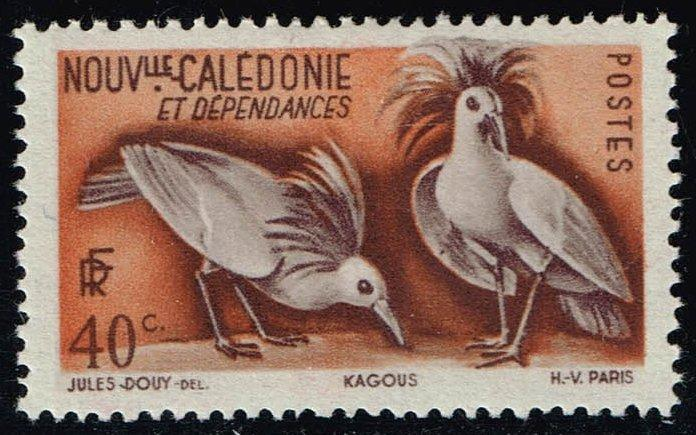 New Caledonia #278 Kagu Birds; Unused (0.45)