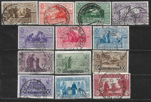 COLLECTION LOT OF 13 ITALY STAMPS 1930+ CV+ $65