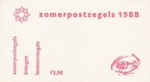 Netherlands #B640a Complete Booklet CV $4.00 (S409)