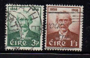 Ireland Sc 165-6 1958 Thomas Clarke stamp set used