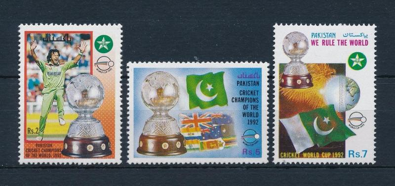[57937] Pakistan 1992 Cricket World champions MNH