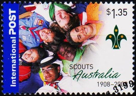 Australia. 2008 $1.35 Fine Used