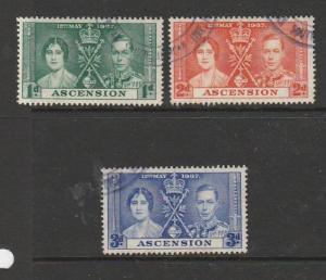Ascension 1937 Coronation FU SG 35/7