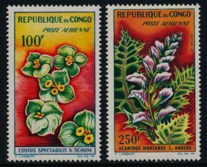 Congo PR C8-9 MNH Flowers