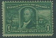 USA SC# 326 Wm McKinley 5c, Unused